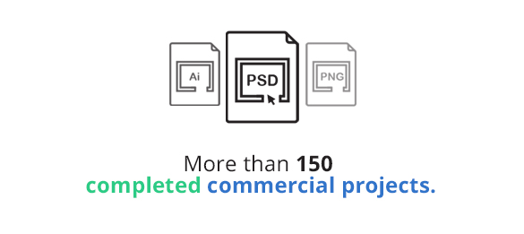 150 projects